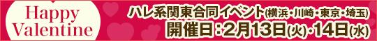 関東ハレ系合同イベント Happy Valentine