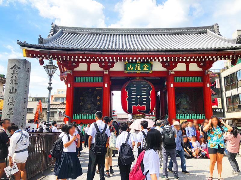浅草寺へぶら散歩